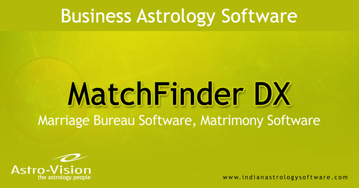 Marriage match making free software