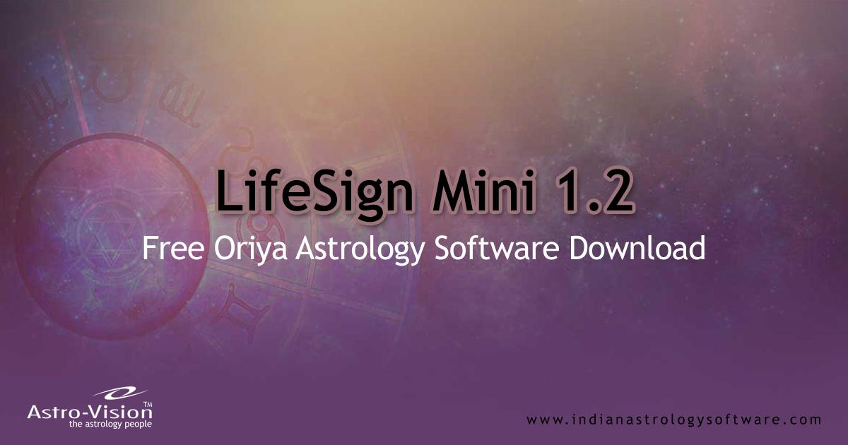 Free Kundli Software in Odia| LifeSign Mini® 1 2