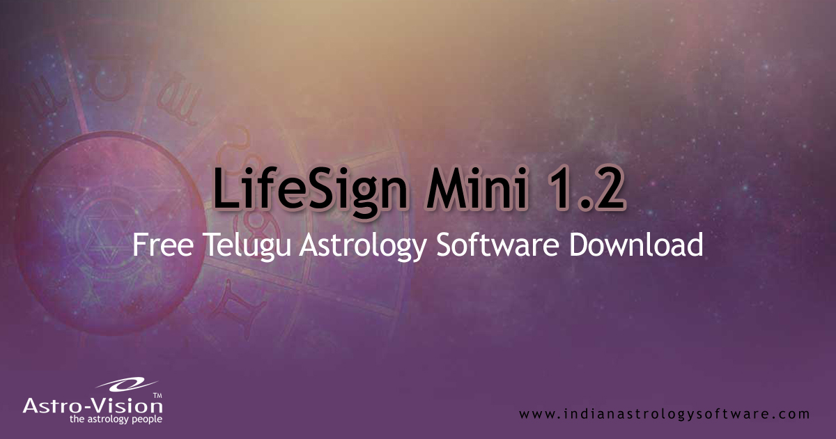 Telugu astrology match making software