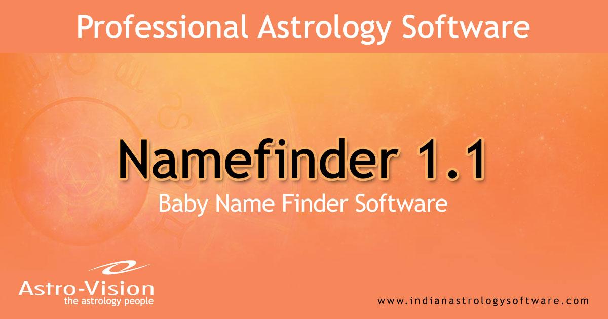 Baby Name Finder Software - Namefinder® 1 1