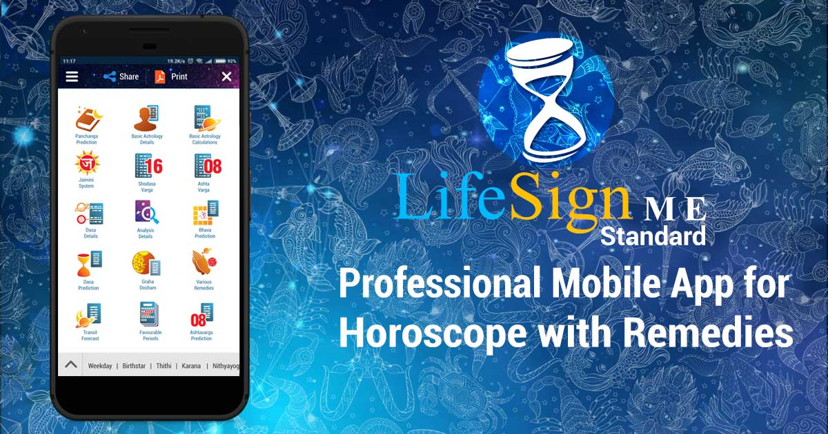 LifeSign ME | Best Professional Mobile App for Horoscope with Remedies