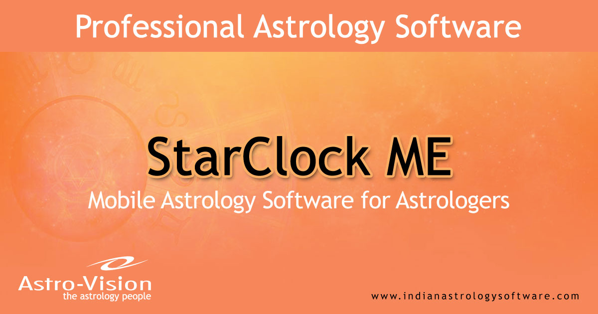 Mobile Astrology Software for Astrologers - StarClock ME®